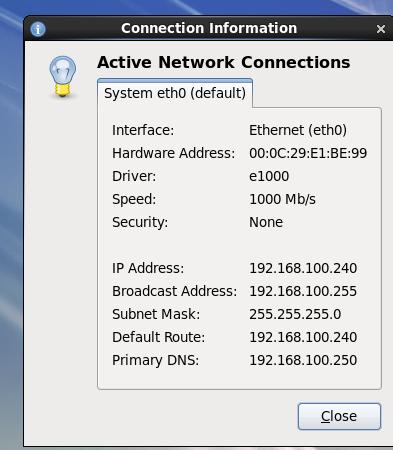 assigning an ip address