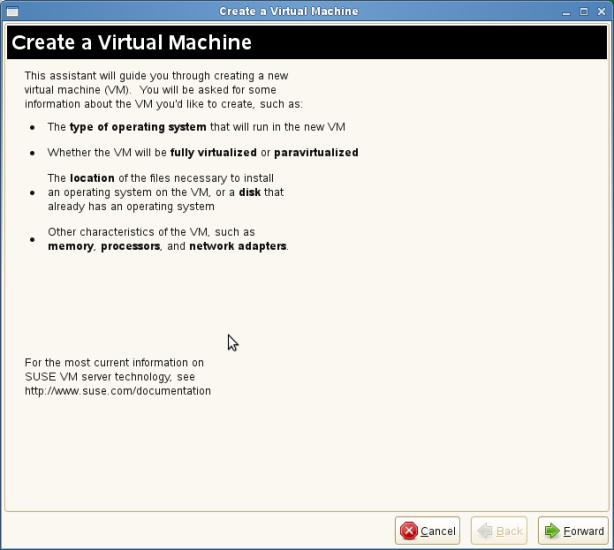Screenshot-Create a Virtual Machine