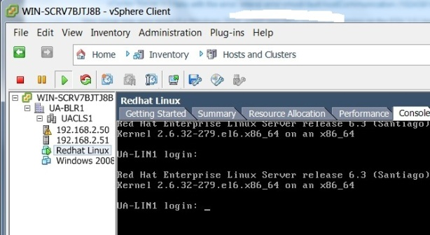 vmware-Redhat-Linux-console-UA